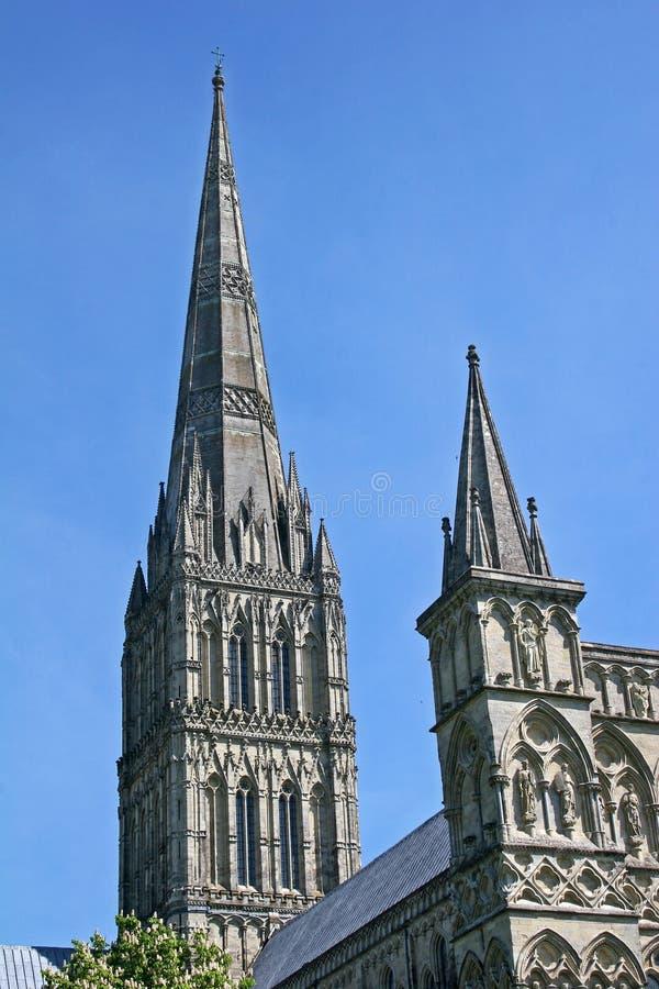Catedral de Salisbury imagen de archivo
