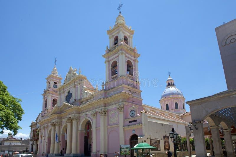 Catedral de Salta em Salta, Argentina foto de stock royalty free