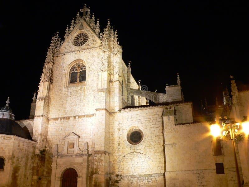 Catedral de San Antolin, Palencia ( Spain ) royalty free stock photos