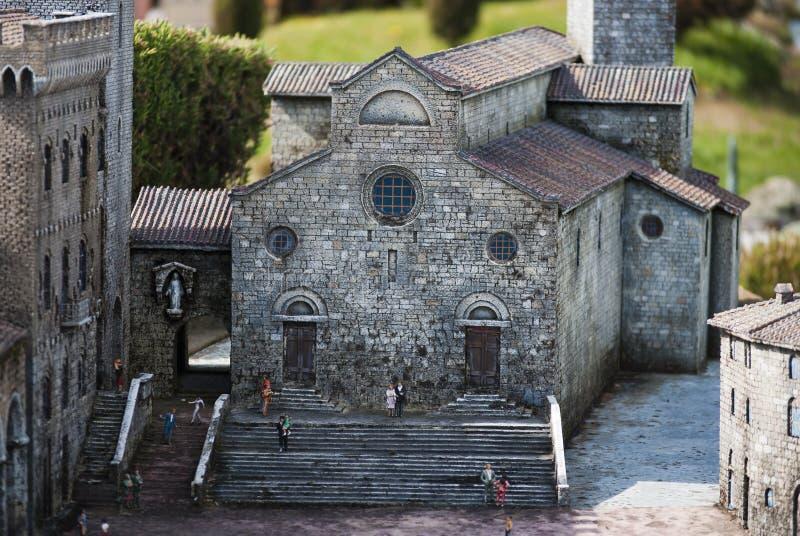 Catedral De San Gimignano Imagem Editorial