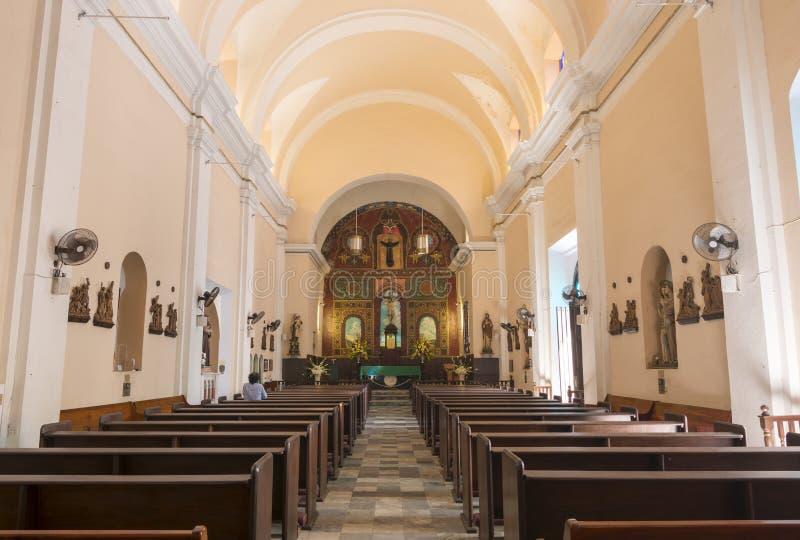 Catedral de San Juan Bautista fotos de archivo