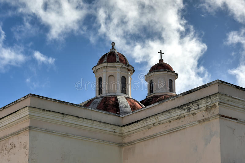 Catedral de San Juan Bautista - San Juan, Puerto Rico imagenes de archivo
