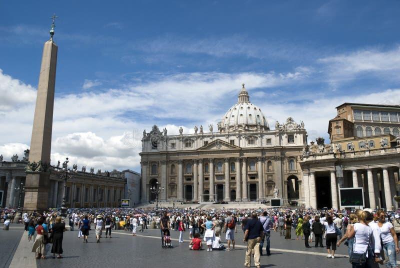 Catedral de San Pedro - Vatican - Roma - Italia fotografía de archivo