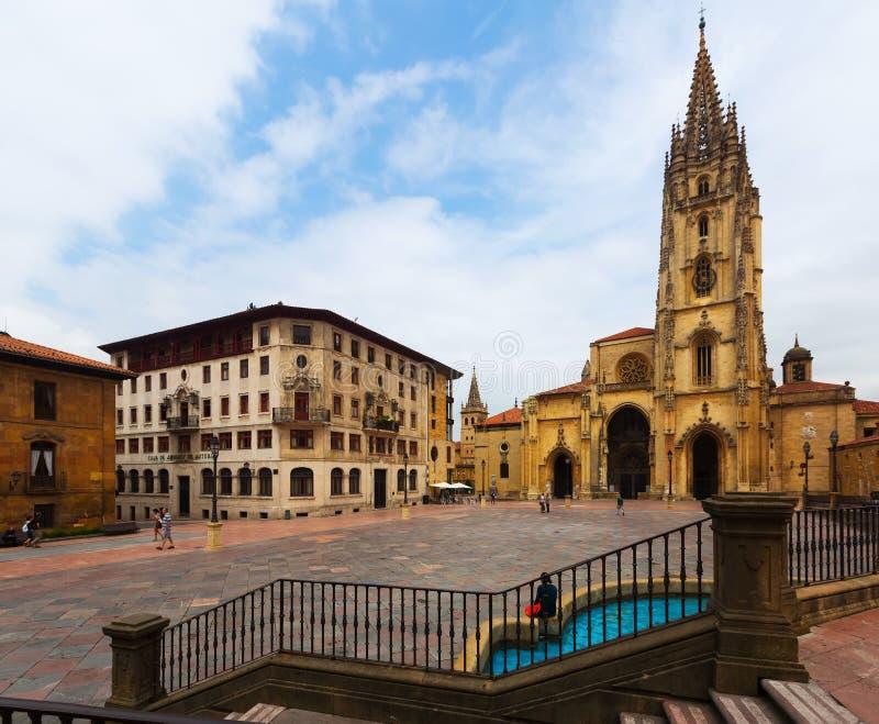 Catedral de San Salvador fotos de stock royalty free