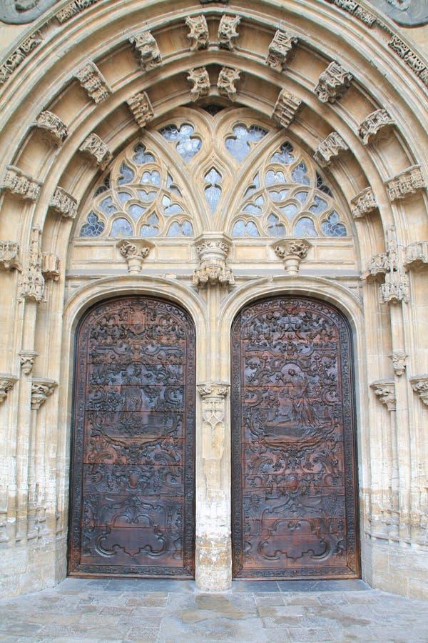Catedral de San Salvador, Oviedo ( Spain ) royalty free stock image