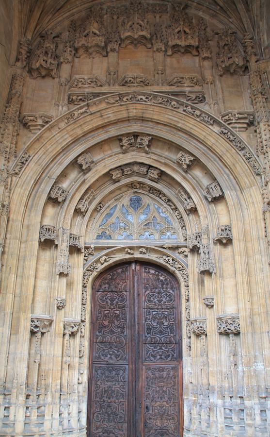 Catedral De San Salvador, Oviedo Spanien stockfotografie