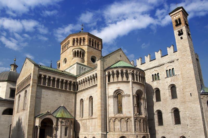 Catedral de San Vigilio - Trento Italy fotos de stock royalty free