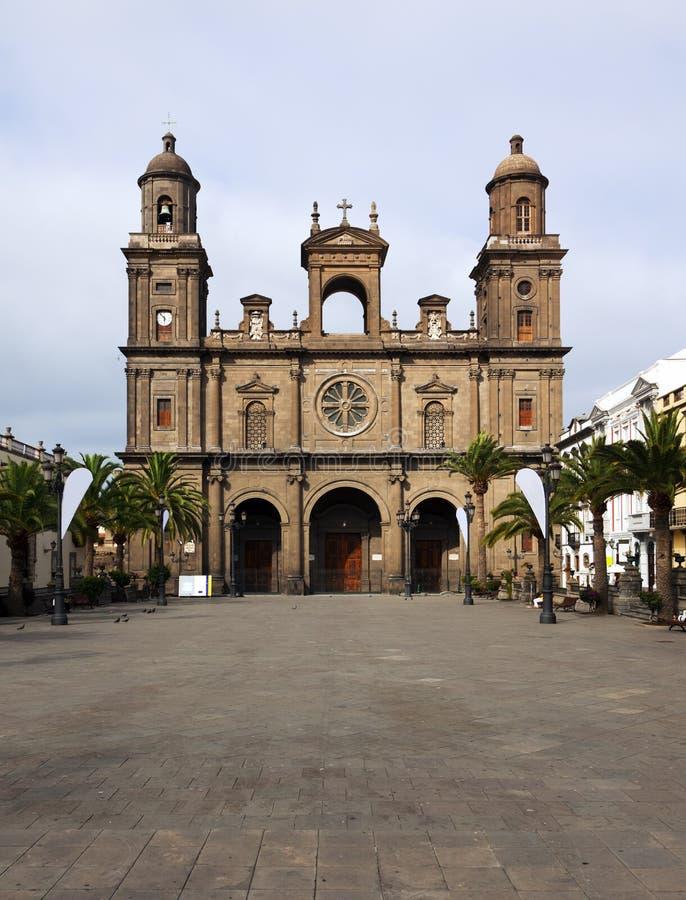Catedral de Santa Ana, Las Palmas, canário grande imagens de stock royalty free