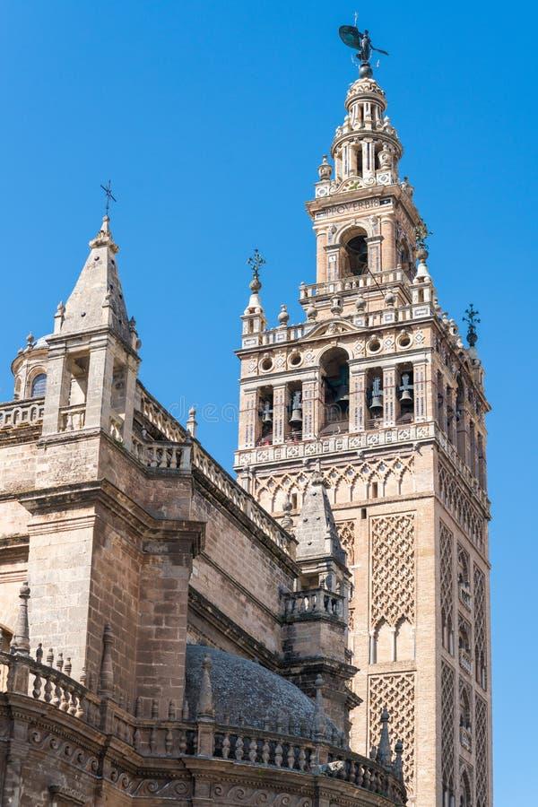 Catedral de Santa MarÃa de Λα Sede, Σεβίλη, Ανδαλουσία, Ισπανία στοκ εικόνες