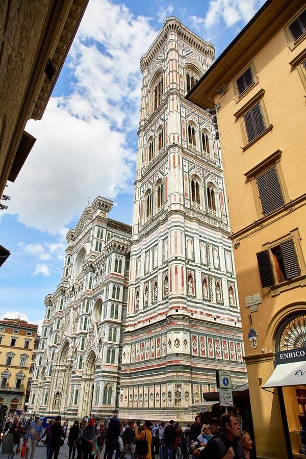 Catedral de Santa María del Fiore, Florencia imagen de archivo libre de regalías