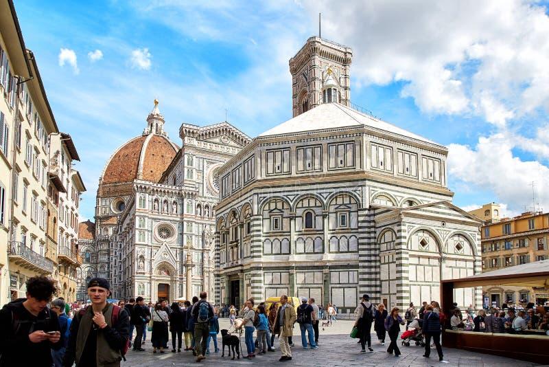 Catedral de Santa María del Fiore, Florencia imagenes de archivo