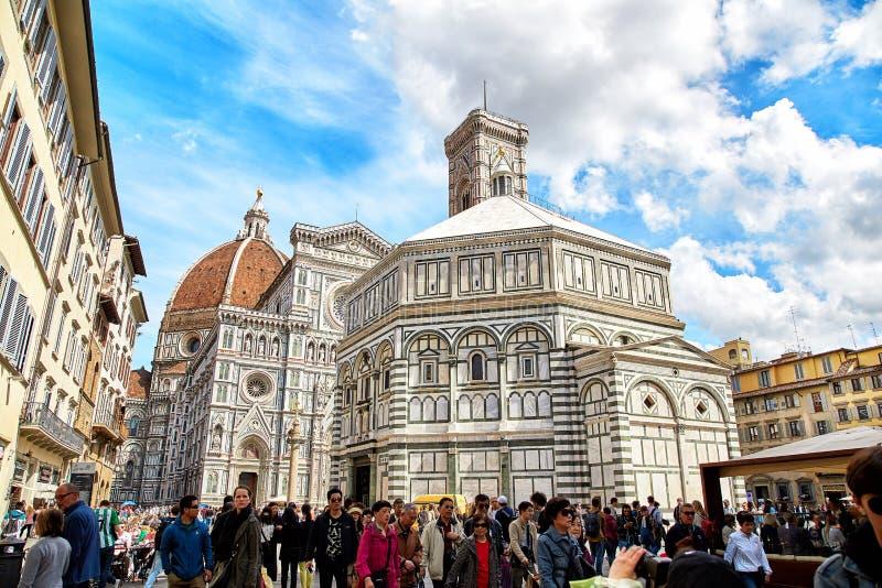 Catedral de Santa María del Fiore, Florencia fotos de archivo libres de regalías
