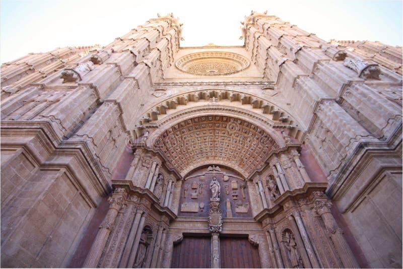 Catedral de Santa Maria de Palma De Mallorca - La Seu imágenes de archivo libres de regalías
