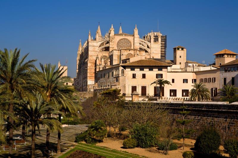 Catedral de Santa Maria de Palma, Majorca imagens de stock royalty free