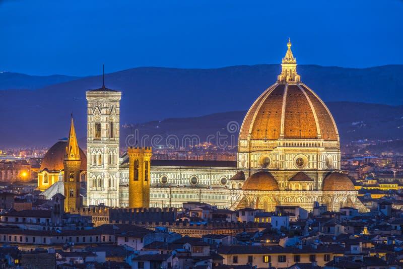Catedral de Santa Maria del Fiore, Florença, Itália imagem de stock royalty free