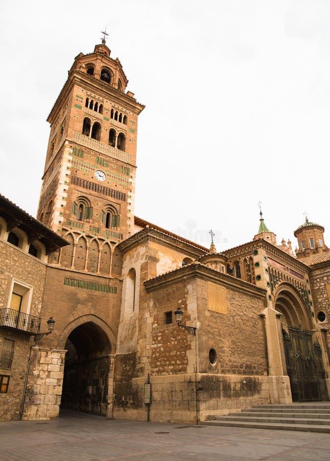 Catedral de Santa Maria en Teruel imagen de archivo