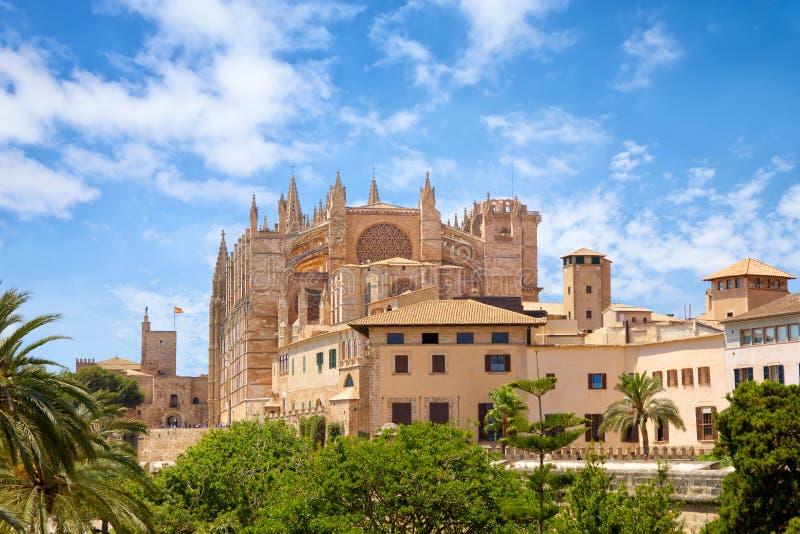 Catedral de Santa Maria de Mallorca imagens de stock