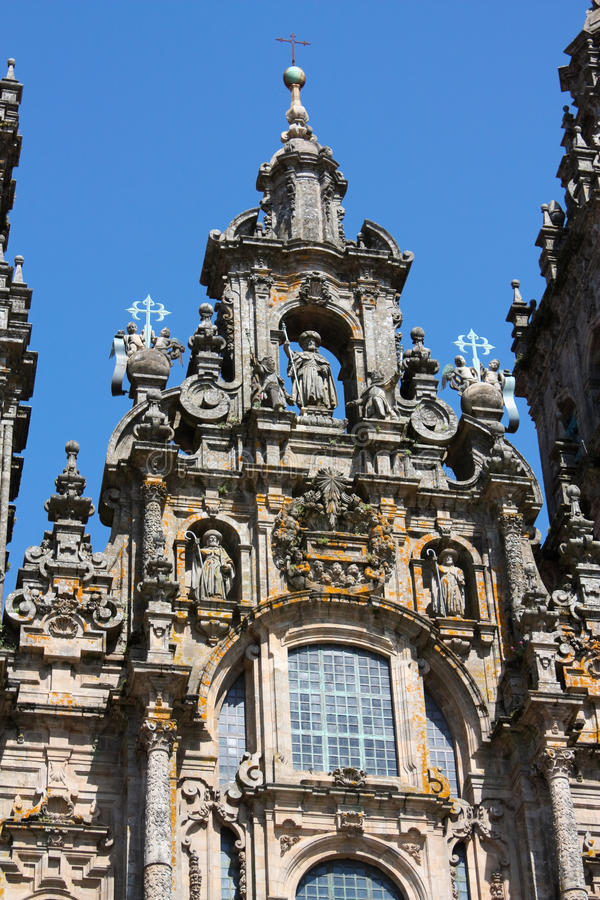 Download Catedral De Santiago De Compostela Foto de Stock - Imagem de igreja, histórico: 12807378
