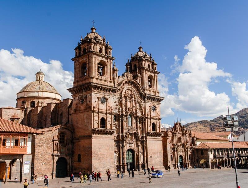 Catedral de Santo Domingo - Cusco, Peru imagens de stock royalty free