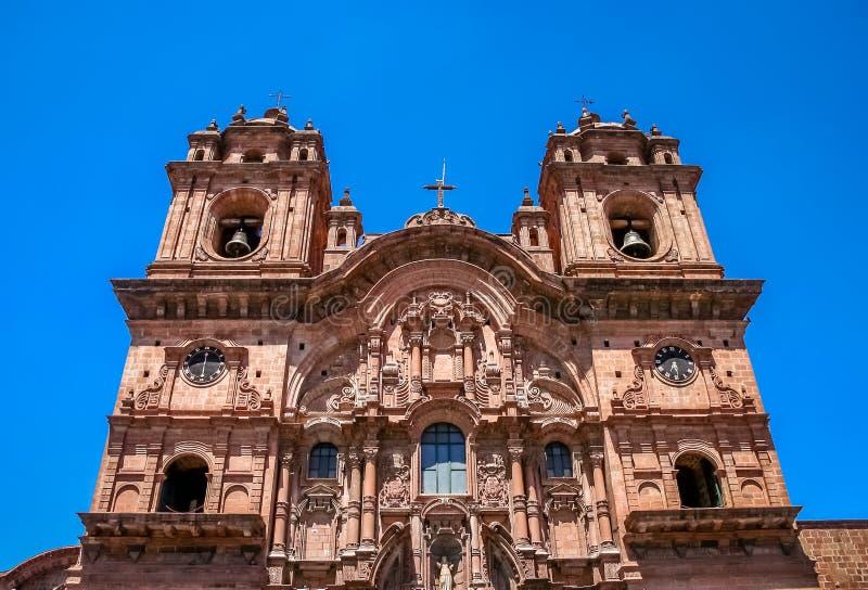 Catedral de Santo Domingo en Cusco fotos de archivo libres de regalías
