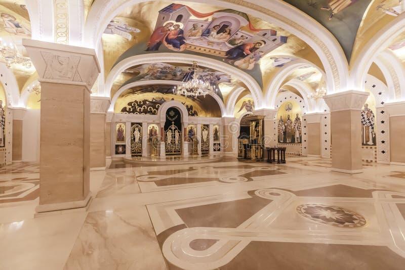 Catedral de Sava de Saint em Belgrado, Sérvia foto de stock