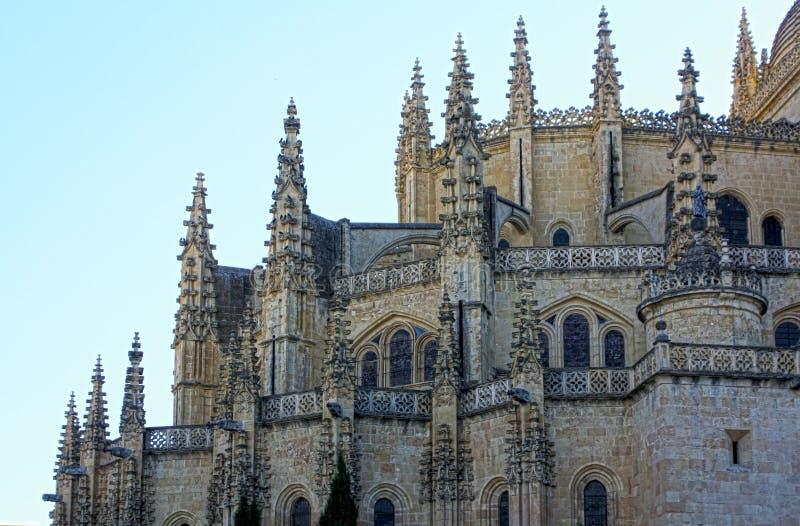 Catedral de Segovia, Spain fotos de stock