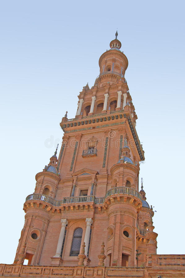 Catedral de Sevilha fotografia de stock