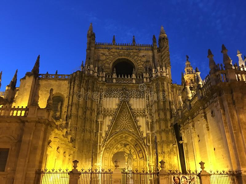 188 Sevilla Night Catedral Photos Free Royalty Free Stock Photos From Dreamstime