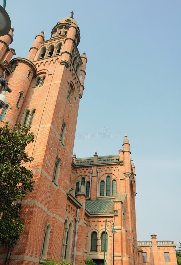 Catedral de Sheshan foto de archivo