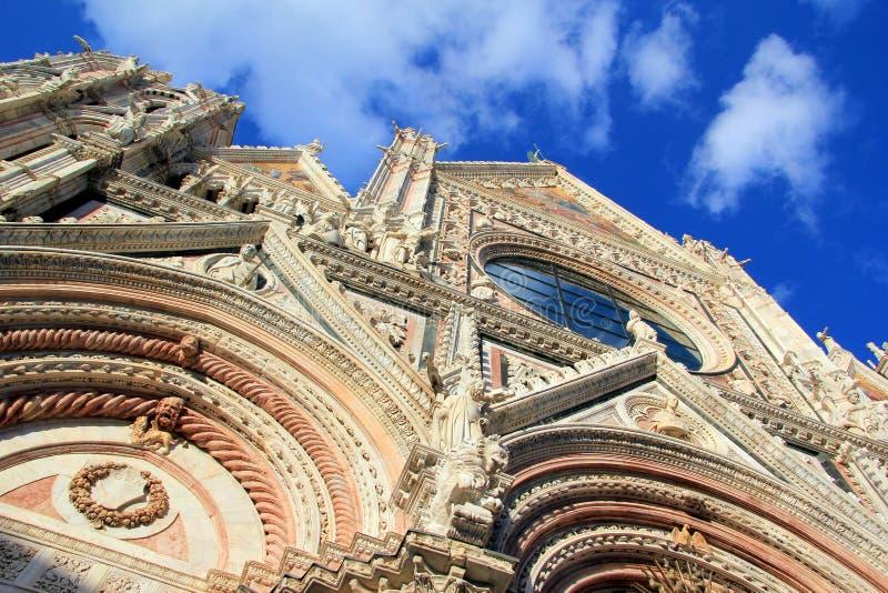 Catedral de Siena imagem de stock royalty free
