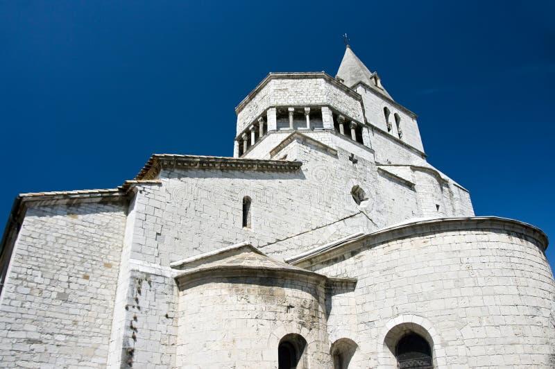 A catedral de Sisteron   fotos de stock