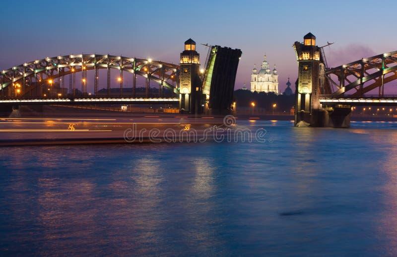 Download Catedral de Smolny foto de stock. Imagem de lâmpada, azul - 10054256