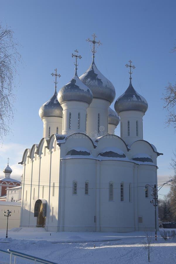 Catedral de Sofía - Vologda imagen de archivo