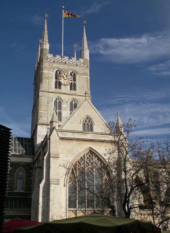 Catedral de Southwark imagen de archivo