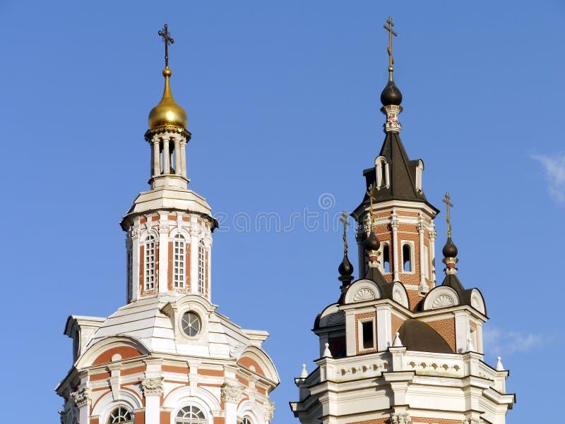 Catedral de Spassky do monastério de Zaikonospassky foto de stock royalty free