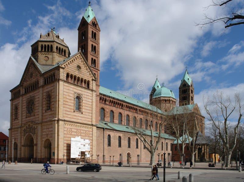 Catedral de Speyer fotografia de stock royalty free