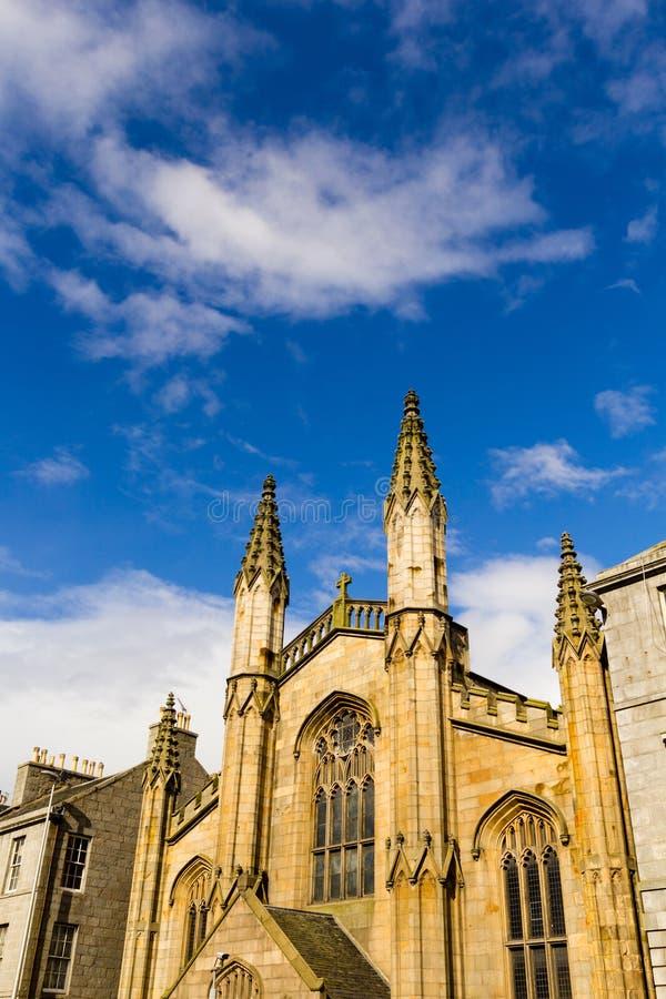 Catedral de St Andrews, Aberdeen, Escócia, Reino Unido, 13/08/2017 fotografia de stock