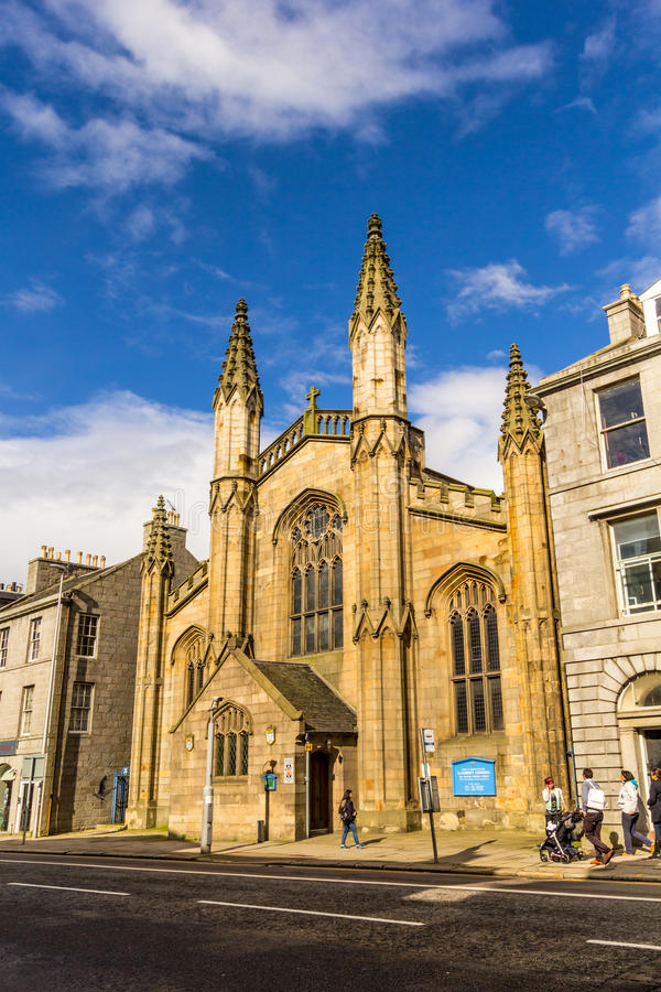 Catedral de St Andrews, Aberdeen, Escócia, Reino Unido, 13/08/2017 foto de stock