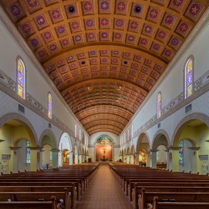 Catedral de St Augustine imagem de stock