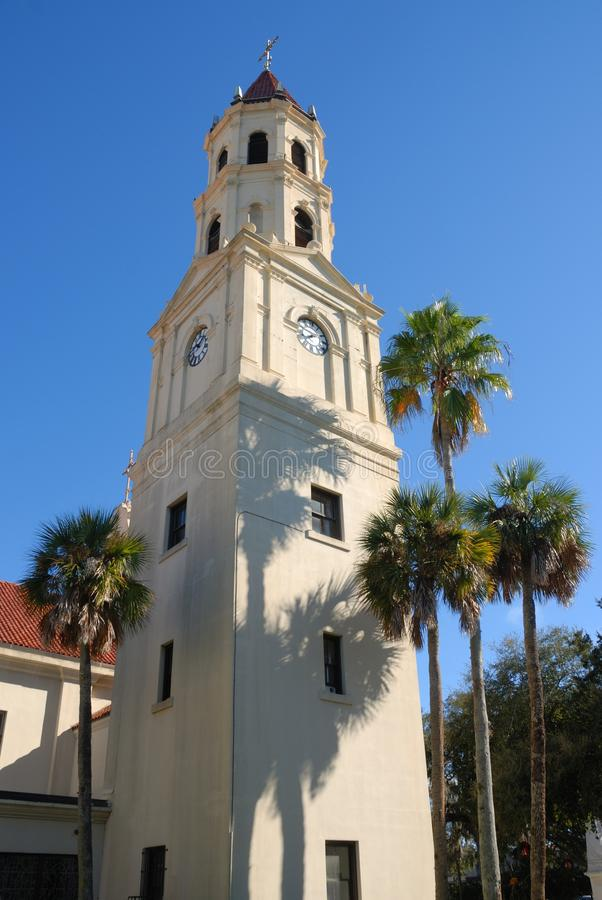 Catedral de St. Augustine foto de stock royalty free