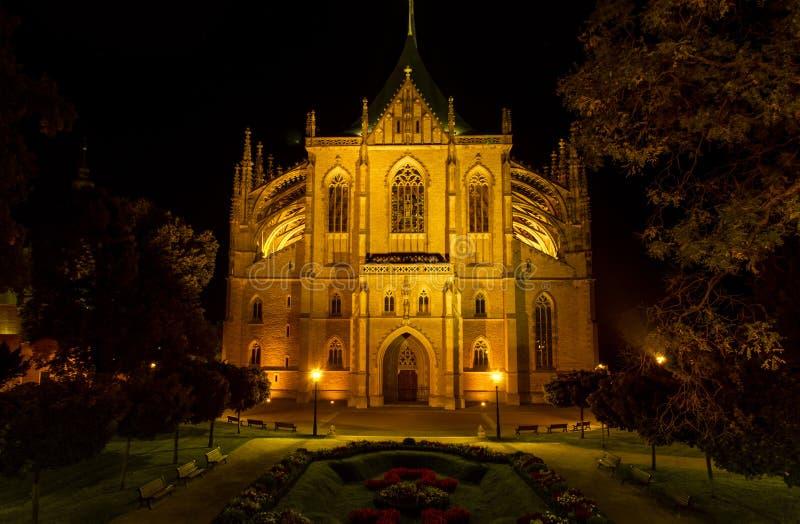 Catedral de st Barbora foto de stock royalty free