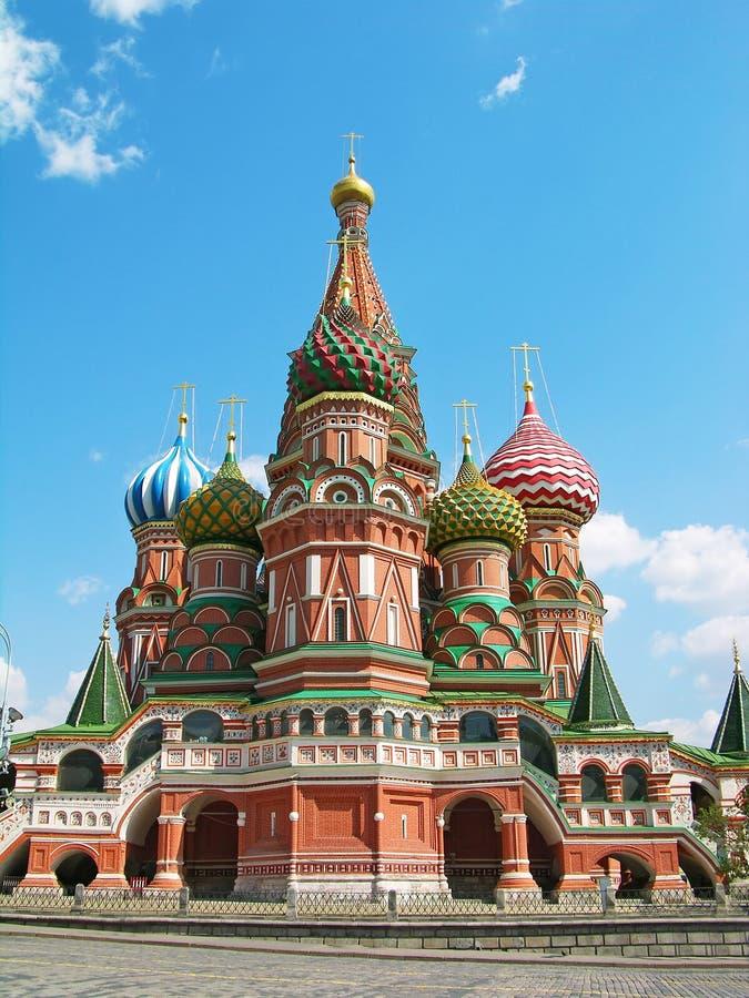 Catedral de St.Basil, Moscovo imagem de stock