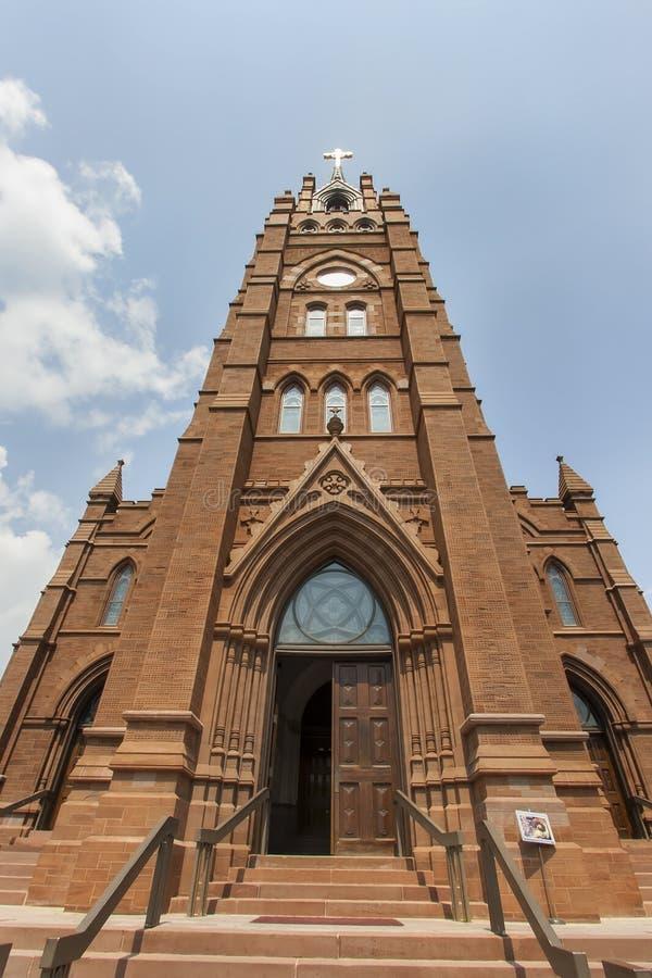 Catedral de St John The Baptist imagens de stock