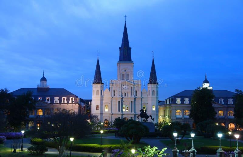 Catedral de St. Louis foto de archivo