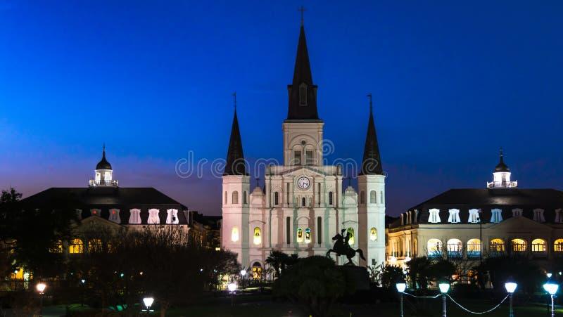 Catedral de St Louis en New Orleans imágenes de archivo libres de regalías