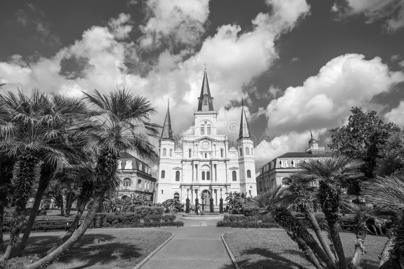 Catedral de St Louis en New Orleans, Luisiana fotos de archivo libres de regalías