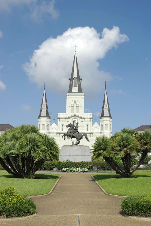 Catedral de St. Louis, New Orleans fotografía de archivo libre de regalías