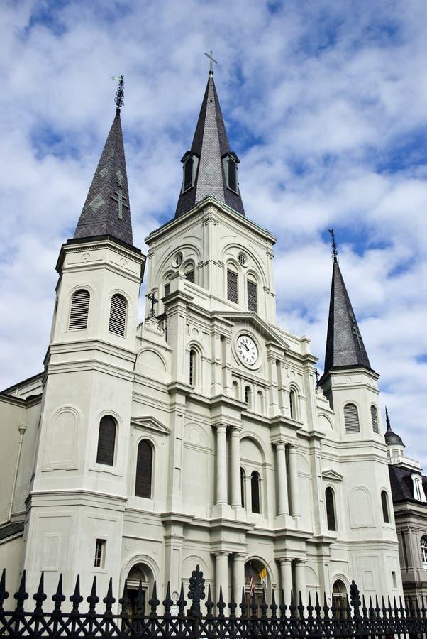 Catedral de St. Louis, New Orleans foto de archivo libre de regalías