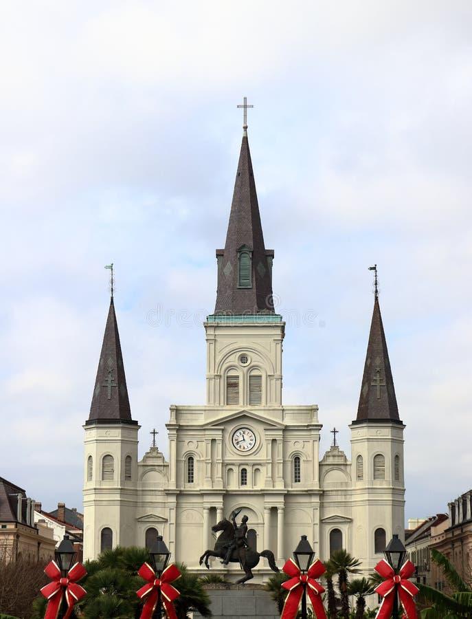 Catedral de St Louis, New Orleans, Luisiana fotografía de archivo