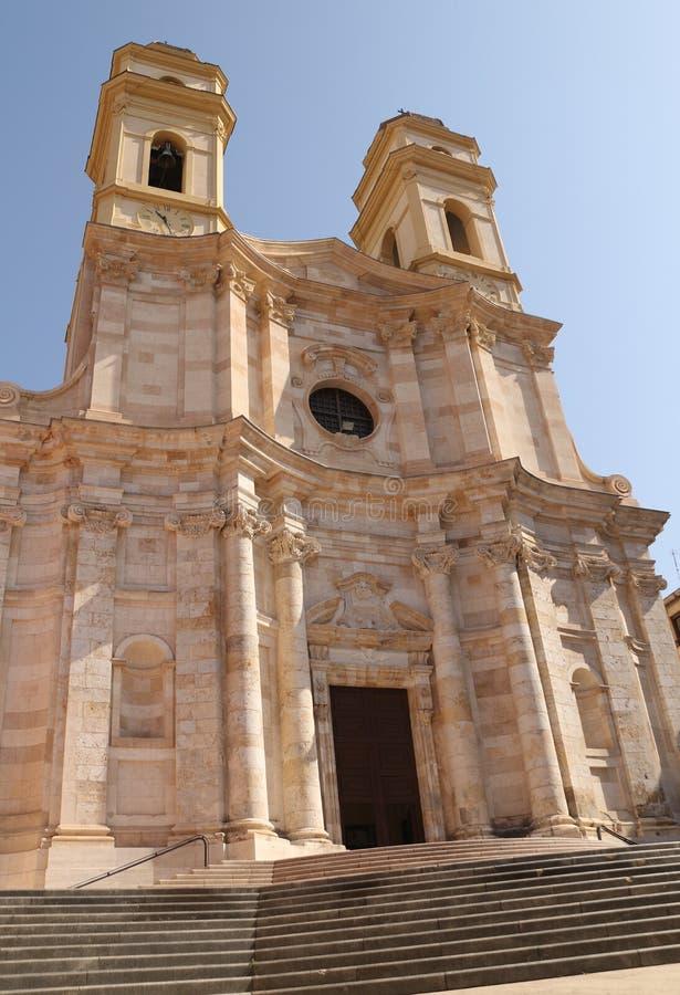 Catedral de St Maria Asunta e St Cecilia fotografia de stock royalty free